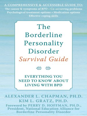 cover image of The Borderline Personality Disorder Survival Guide