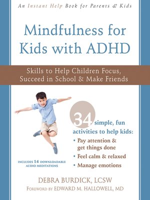 cover image of Mindfulness for Kids with ADHD