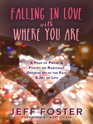 cover image of Falling in Love with Where You Are