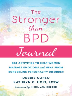 cover image of The Stronger Than BPD Journal