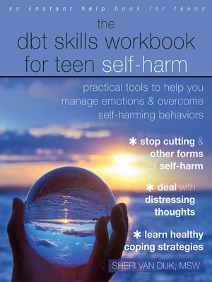 cover image of The DBT Skills Workbook for Teen Self-Harm