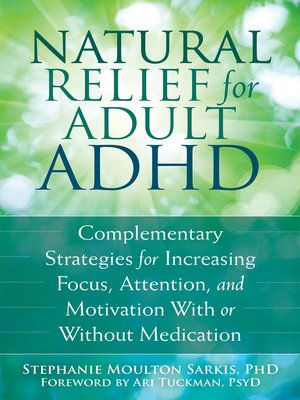 cover image of Natural Relief for Adult ADHD