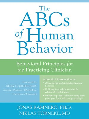 cover image of The ABCs of Human Behavior