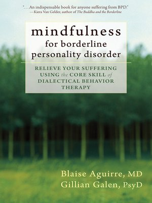 cover image of Mindfulness for Borderline Personality Disorder