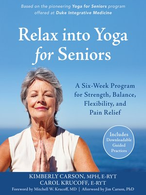 cover image of Relax into Yoga for Seniors