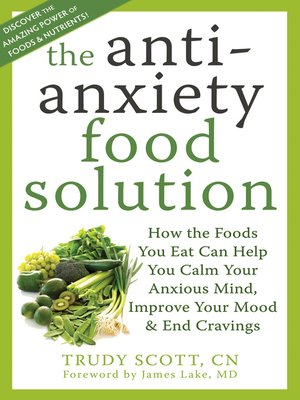 cover image of The Antianxiety Food Solution