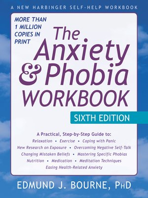 cover image of Anxiety and Phobia Workbook