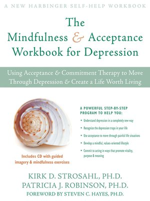 cover image of Mindfulness and Acceptance Workbook for Depression
