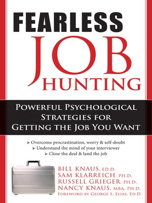 cover image of Fearless Job Hunting