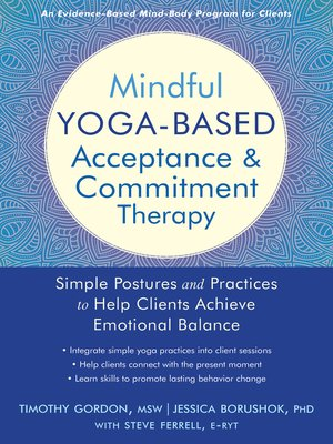 cover image of Mindful Yoga-Based Acceptance and Commitment Therapy
