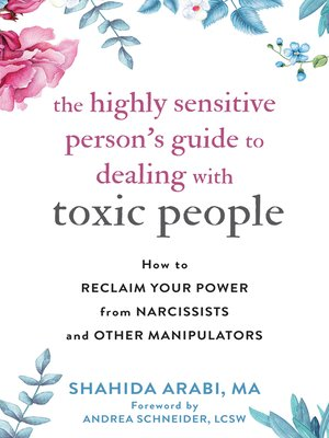 cover image of The Highly Sensitive Person's Guide to Dealing with Toxic People