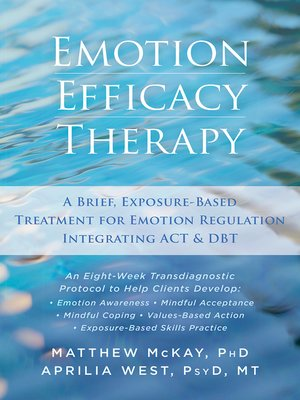 cover image of Emotion Efficacy Therapy