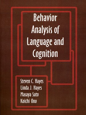 cover image of Behavior Analysis of Language and Cognition