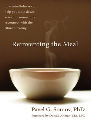 cover image of Reinventing the Meal