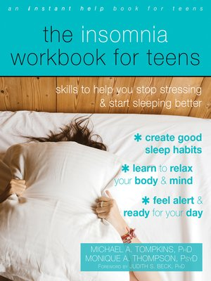 cover image of The Insomnia Workbook for Teens