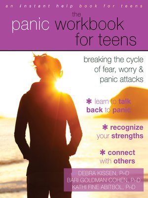 cover image of The Panic Workbook for Teens