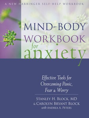 cover image of Mind-Body Workbook for Anxiety
