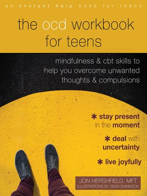 cover image of The OCD Workbook for Teens