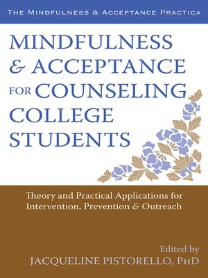 cover image of Mindfulness and Acceptance for Counseling College Students