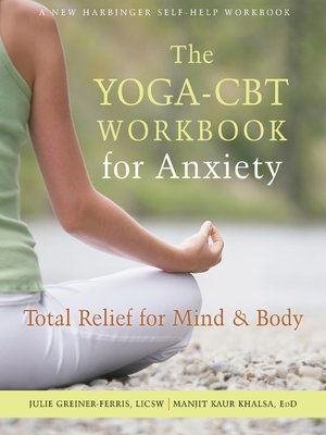 cover image of The Yoga-CBT Workbook for Anxiety