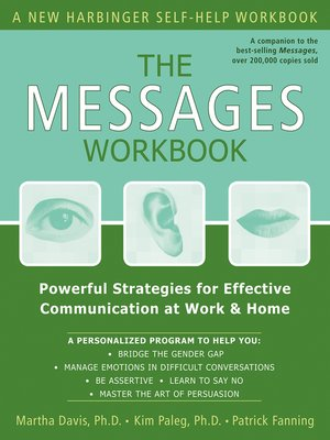 cover image of The Messages Workbook