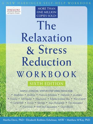 cover image of The Relaxation and Stress Reduction Workbook