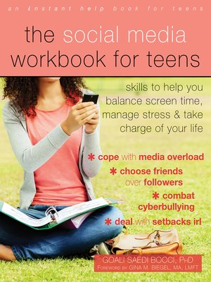 cover image of The Social Media Workbook for Teens