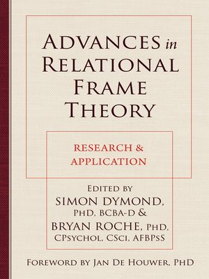 cover image of Advances in Relational Frame Theory