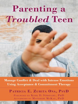 cover image of Parenting a Troubled Teen