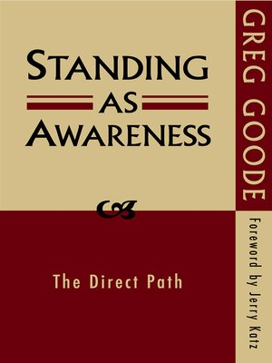 cover image of Standing as Awareness