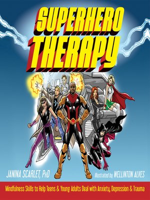 cover image of Superhero Therapy