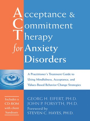 cover image of Acceptance and Commitment Therapy for Anxiety Disorders