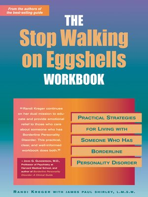 cover image of The Stop Walking on Eggshells Workbook
