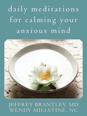 cover image of Daily Meditations for Calming Your Anxious Mind