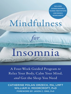 cover image of Mindfulness for Insomnia