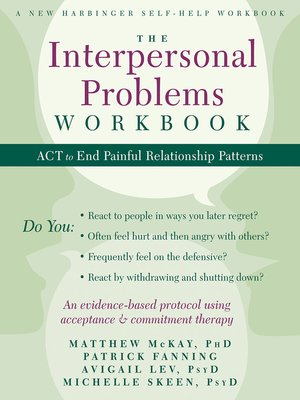 cover image of The Interpersonal Problems Workbook