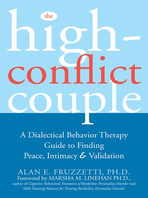 cover image of The High-Conflict Couple