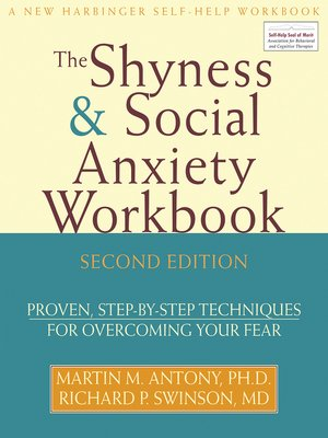 cover image of The Shyness and Social Anxiety Workbook