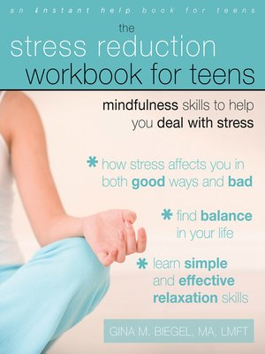 cover image of The Stress Reduction Workbook for Teens