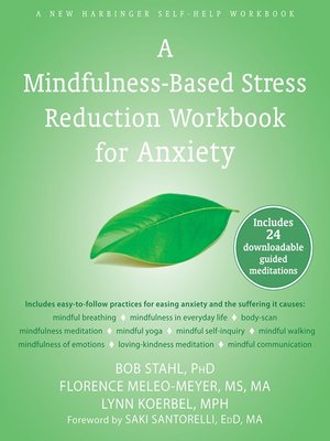 cover image of A Mindfulness-Based Stress Reduction Workbook for Anxiety