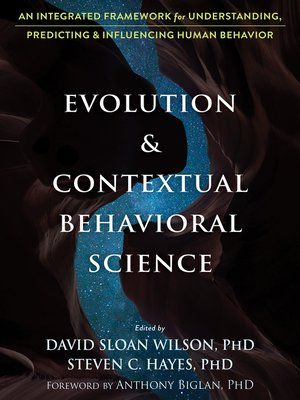 cover image of Evolution and Contextual Behavioral Science