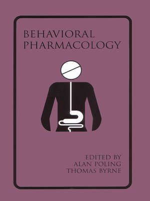 cover image of Introduction to Behavioral Pharmacology