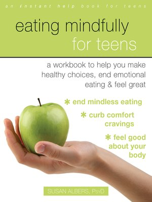 cover image of Eating Mindfully for Teens