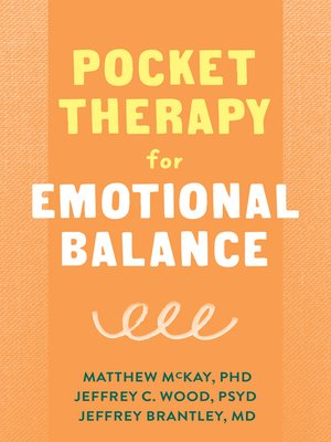 cover image of Pocket Therapy for Emotional Balance
