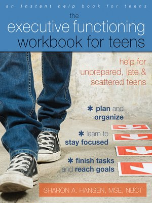 cover image of Executive Functioning Workbook for Teens