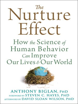 cover image of The Nurture Effect