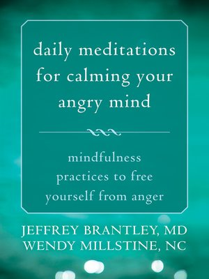 cover image of Daily Meditations for Calming Your Angry Mind