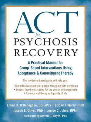 cover image of ACT for Psychosis Recovery