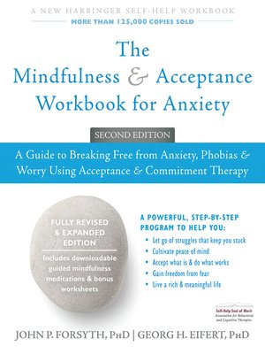 cover image of The Mindfulness and Acceptance Workbook for Anxiety