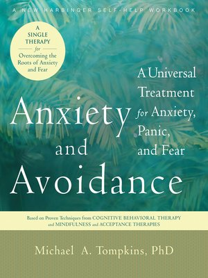 cover image of Anxiety and Avoidance